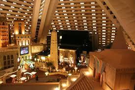 luxor hotel inside