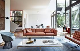 livingroom living room dark brown couch rug low table leather sofa small decorating ideas chocolate