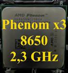 б\в процесор AMD Phenom x3 8600 2,3 Ghz б\в