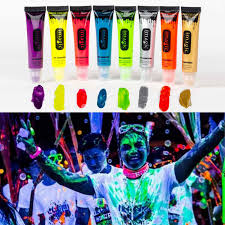 aliexpress 13ml uv blacklight reactive face body paint art party club fancy dress makeup from reliable body paint suppliers on tender heart