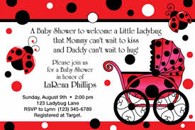 Free Printable Ladybug Baby Shower Invitations  Party XYZFree Printable Ladybug Baby Shower Invitations