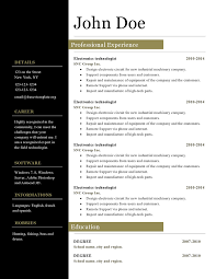 Open Office Template Resume Resume Templates Open Office Template S