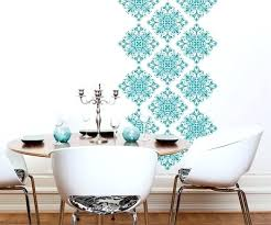 Wall Stencil Patterns Inspiration Home Wall Stencil Ideas Patterns For Painting Cenvisco