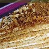 Medovnik Russian Honey Cake Recipe