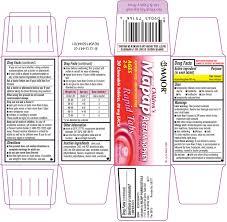 Mapap Childrens Tablet Chewable Major Pharmaceuticals