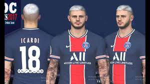 PES 17 | M. Icardi and Neymar Updated 2021 Look by DC - PES Patch