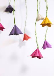 Paper Flower Mobiles Paper Floral Mobile Tutorial