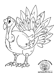 Preschool Coloring Pages Turkeylll