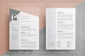 Modern Column Resume Template Ms Word Cv Template Free Download Architect