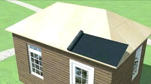 how to install a corrugated metal roof roofing on shed