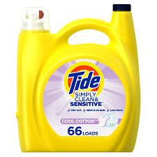 Tide Simply <b>Cotton Cool</b> HE, 66 Loads Liquid Laundry Detergent ...