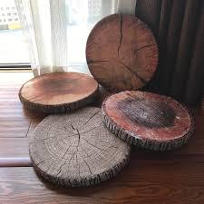 Creative Tree Stump Cushion