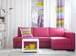 Tufted Living Room Furniture Furniture Living Room Design With Long Pink Tufted Sofa Also