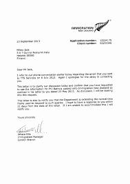 Sample Letter For Immigration Recommendation