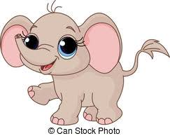 cute elephant clipart. Delighful Clipart Cute Baby Elephant  Illustration Of And Funny Baby For Elephant Clipart U