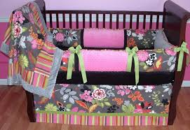 colorful baby crib blanket and per design with strips crib bedding girl modern kids bedroom design