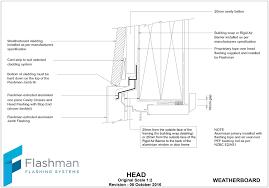 weatherboard garage door head detail david batty the