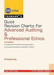 Pankaj Garg Audit Charts Nov 2018 Quick Revision Charts For Advanced Auditing Professional
