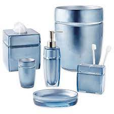 Porter Bath Accessory Collection In Blue Bed Bath Beyond