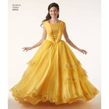 Belle Dress Pattern Interesting Design Ideas