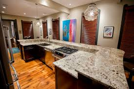 Of Granite Kitchen Countertops Granite Kitchen Countertops Polar Cream Granite Countertops View