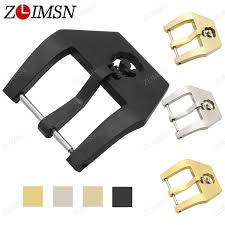 <b>ZLIMSN</b> Stainless Steel <b>Watch Buckle Solid</b> Silver Gold Brushed ...