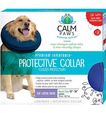 this option can be viewed as a system it s made to be used with the calm paws calming disk dog collar attachment a blend of essential oils known to have