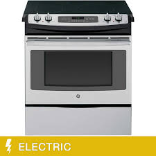 Ge Service Phone Number Ge 44cuft Slide In Front Control Electric Convection Range In