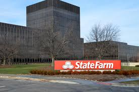 state farm headquarters building in bloomington