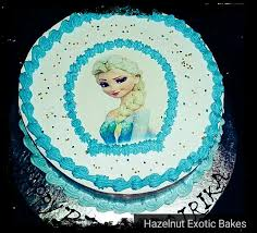 Buy Frozen Theme Cake Kids 18minimum 2 Pounds Online At Best