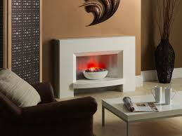 jupiter white bowl pebble katell gallery studio 2 electric fireplace