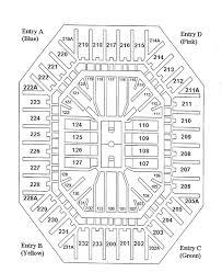 Smith Center Seating Chart University Of North Carolina