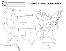 Map Of The United States Printables Blank Map Worksheet Blank Map Of