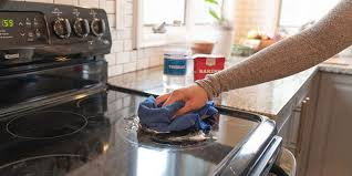 how to clean a glass top stove pro