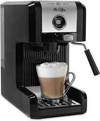 The first lasted several years, used every day. Amazon Com Mr Coffee Easy Maker Authentic Pump Espresso Machine 6 Piece Chrome Black Kitchen Dining