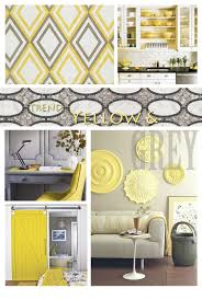 Yellow Living Room Decor Yellow And Grey Decor