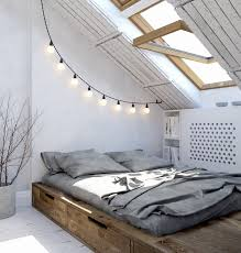 Loft Bedroom Decorating An Entry From Interiors Yum Festoon Lights String Lights And