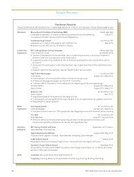 Mit Mba Resume Template Harvard Business School Resume Sample ...