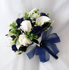 Silk Flower Bridal Bouquet Ideas
