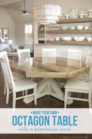 diy ocon dining room table with a farmhouse base