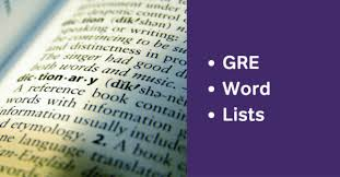 Words With Photo Gre Word List