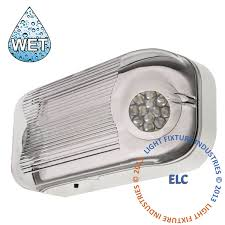 emergency light wet listed all led