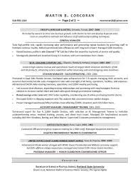 Sales Manager Sample Resume - Executive Resume Writer For