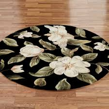 Full Size Of Living Room Beautiful Round Area Rugs Black Flower Rug Wool Material