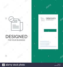 Checklist Design Template Check Checklist Feature Featured Features Grey Logo
