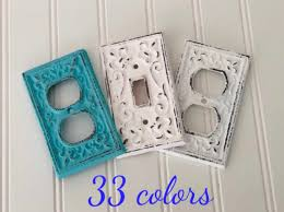 Double Light Switch With Outlet Cover Outlet Cover Light Switch Cover Cast Iron Double Light