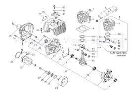 Echo srm 5000 srm 5000 parts diagram page 4