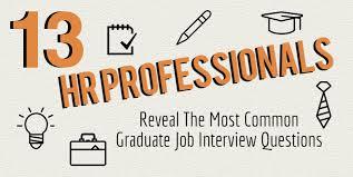 Interview Questions For New Graduates 13 Hr Professionals Reveal The Top Graduate Job Interview Questions