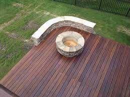 fire pit safe for wood deck unique salt lake wood decking is a classic choice with