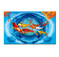 Stand in the doorway to orient yourself and get a handle on. Wall Art China S Wind Feng Shui Koi Fish Painting Print On Canvas Decor Gifts 30 9 90 Picclick